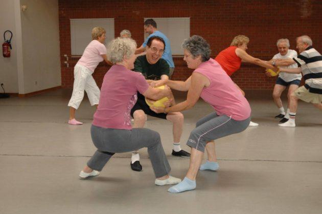 Atelier sport pour seniors