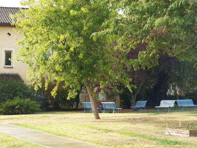 Parc de l'EHPAD l'Albergue